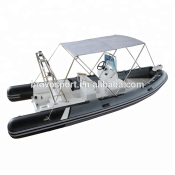 CE China Zodiac Rib 580 12mm Pvc Rib Inflatable Rubber Boat