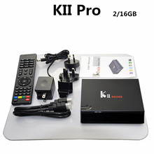 best selling products Wholesale Kii pro amlogic s905 quad core 2gb ram 16gb rom DVB S2 T2 smart box download hindi song video