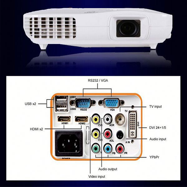 Payment asia alibaba china 3LCD 3LED 3000lumens smart beam projector module/led hd projector 3d without glasses