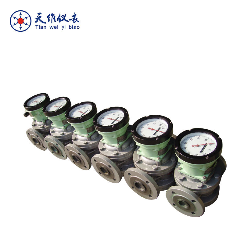 Mechanical/digital gasoline/gas oil flow meter
