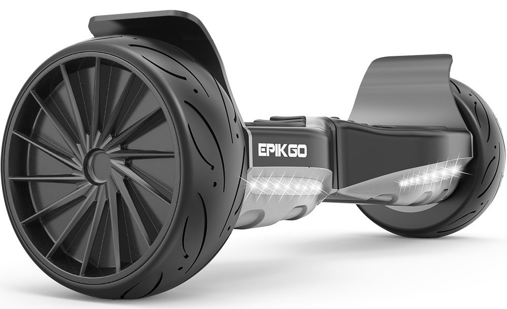 """EPIKGO SPORT Balance Board Self Balance Scooter Hover Self-Balancing Board - UL2272 Certified, All-Terrain 8.5"""" Racing Wheels, 400W Dual-Motor, LG Smart Battery, Hover Over Tough Road Condition"""