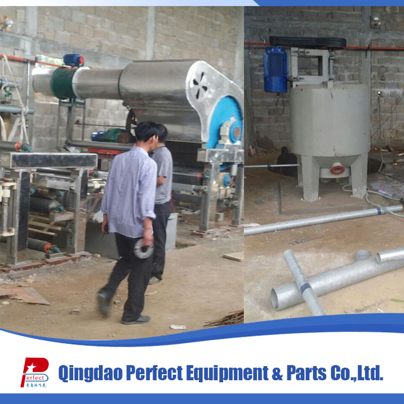 Waste paper recycling 787 small toilet paper making machine