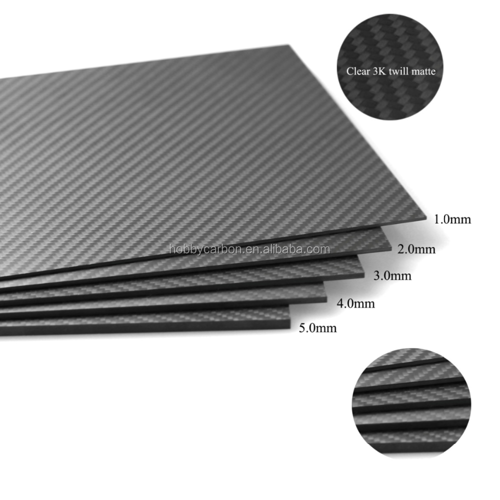 Carbon Fiber Sheet/Plate/Board/Panel 3K Carbon Fiber Cutting hot sale