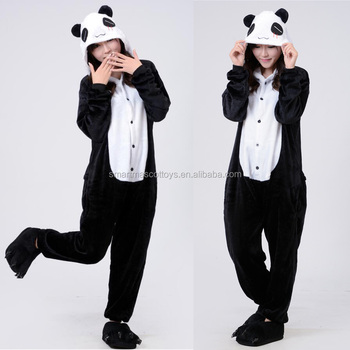 Оптовая продажа женщина мужчины унисекс панда пижамы взрослых панды onesie b0acf78e6c0dc