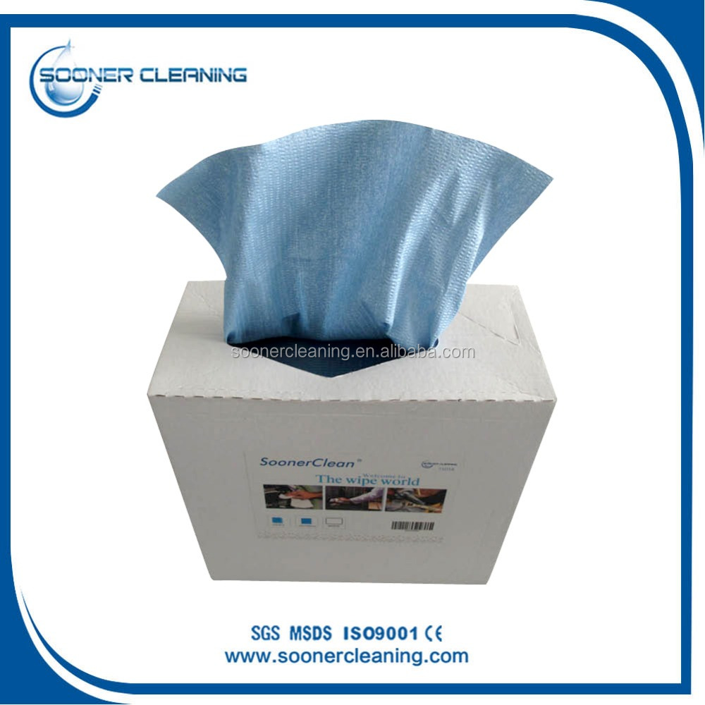 Good Absorbant Ability Cleaning Spunlace Non Woven