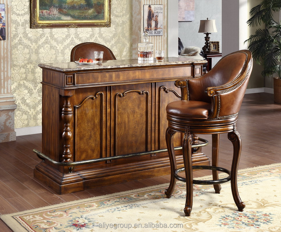 fran ais style baroque home bar meubles europ enne classique mini bar en bois sculpt la main. Black Bedroom Furniture Sets. Home Design Ideas