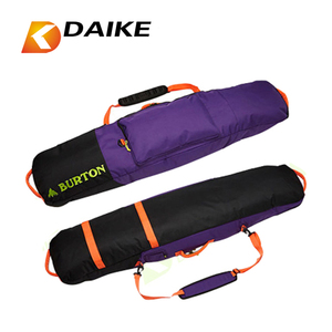 Factory OEM manufacture custom neoprene wheeled trolley ski snowboard bag