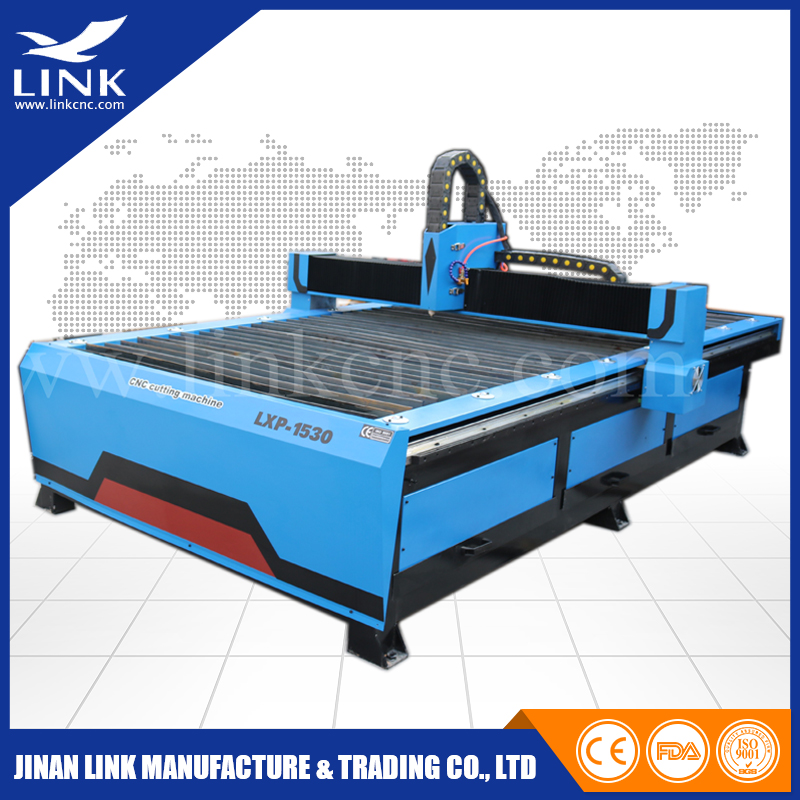 LINK company 1530 plasma cutting machine for stainless steel / plasma cutter made in china