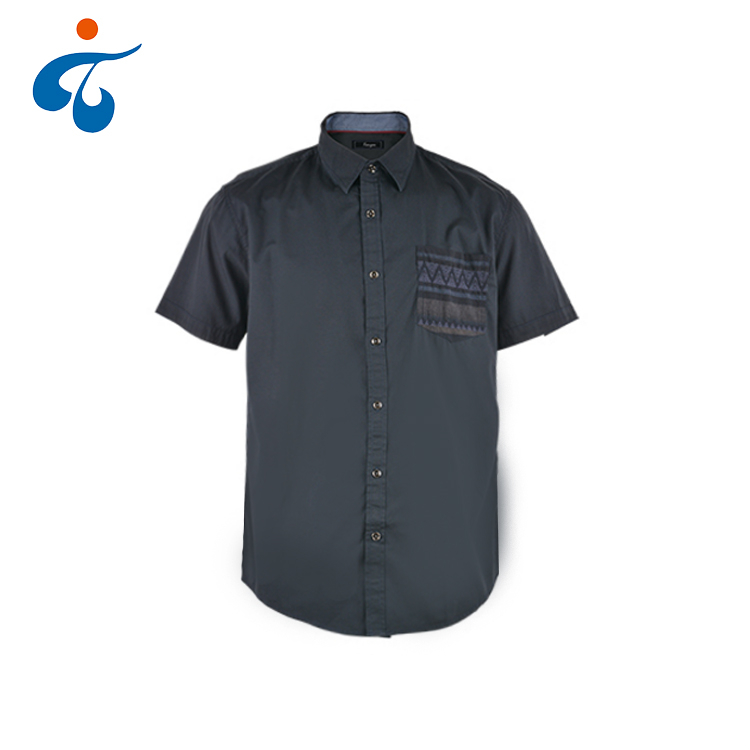 Hot selling professionele fashion eco-vriendelijke 100% katoenen shirt mannen