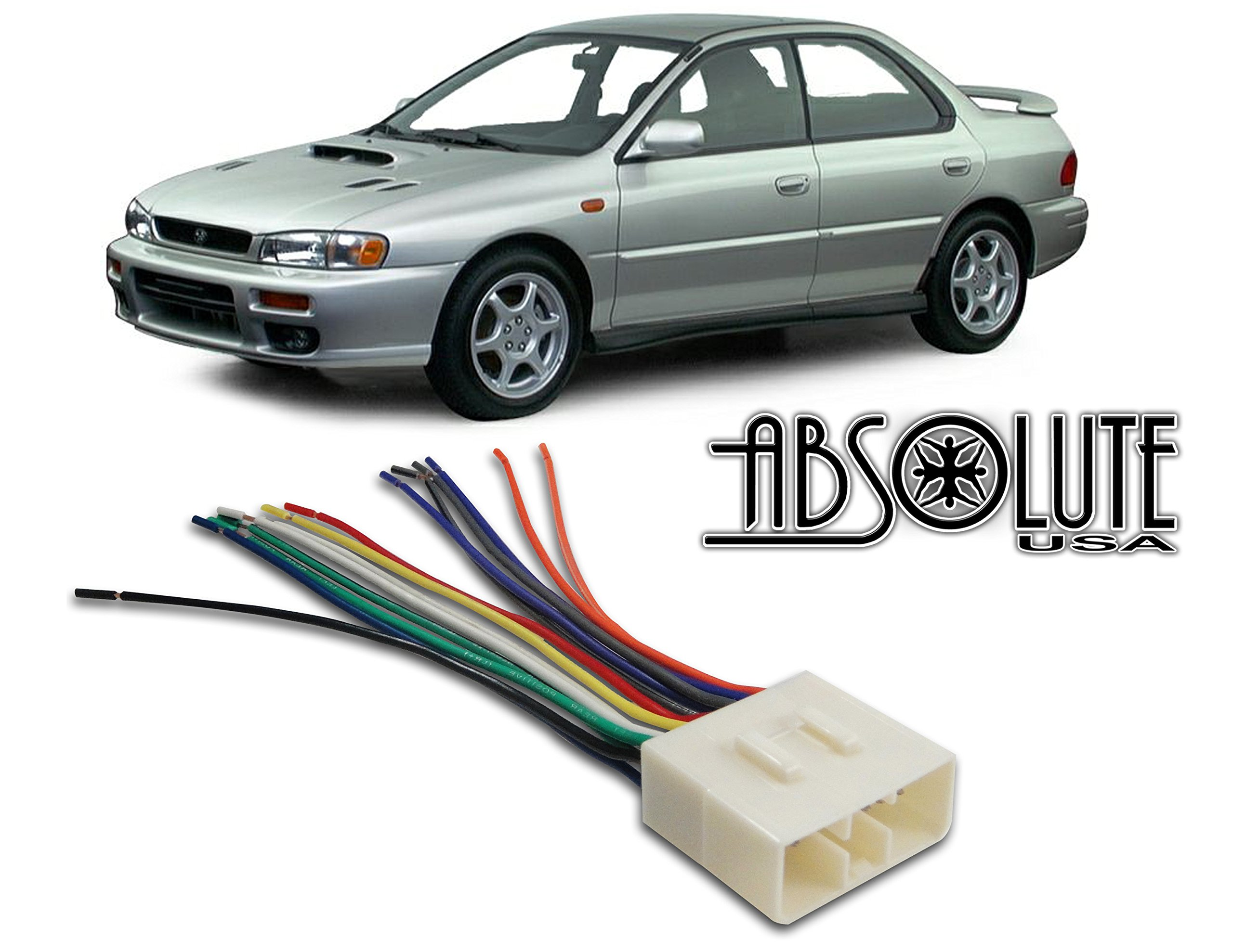 Buy Stereo Wire Harness Subaru Impreza 02 03 04 05 Aftermarket Radio How To Install Wiring For Car Installation