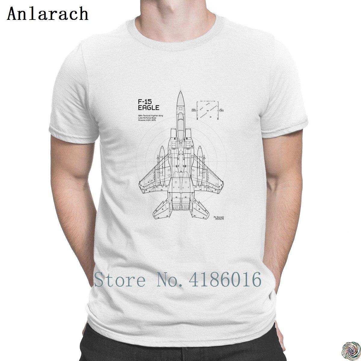1a15146b89 Compre F 15 Eagle Diagrama De Aeronaves Camisetas Família Tee Top ...