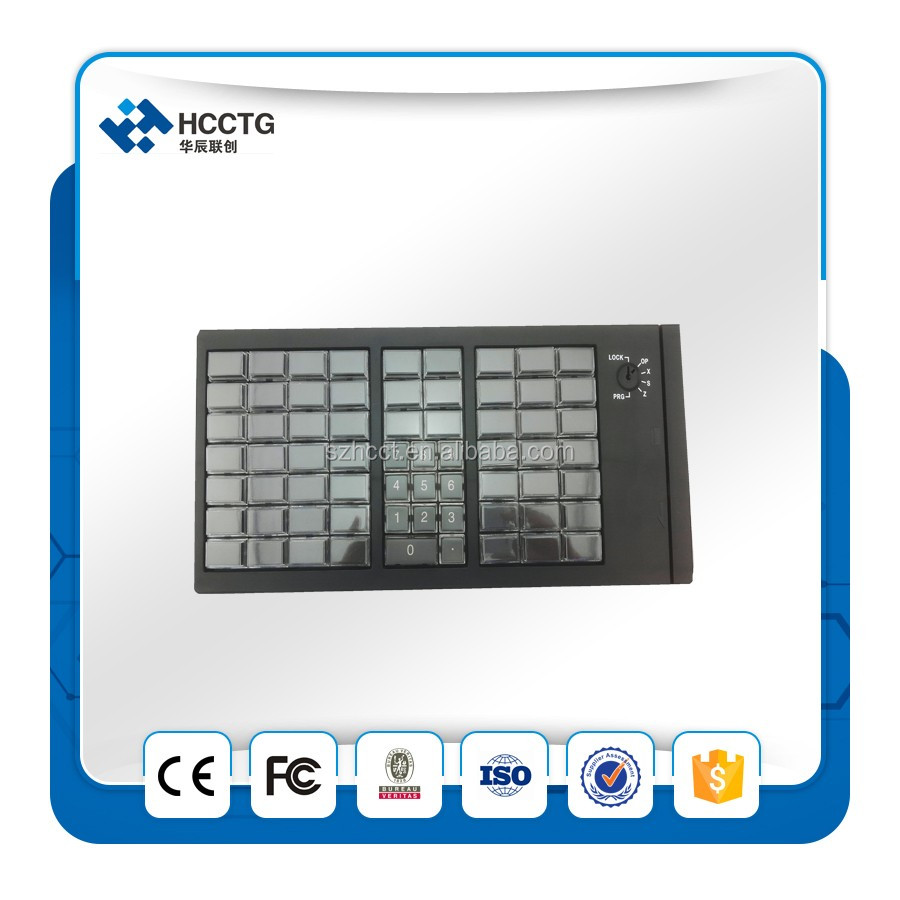 High quality membrane keys and Programmable Keyboard for pos system --KB66