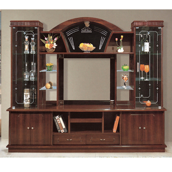 Hot Designs Mdf Tv Stands With Showcase 841 India Style Tv