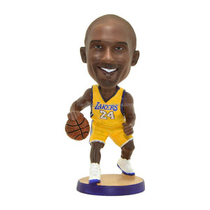 custom mini NBA Player lakers kobe bryant bobble head dolls figurine craft
