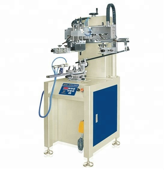 Hengjin Printing machinery automatic cylinder screen printing machine for plastic bottles