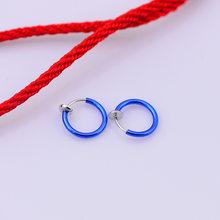 Женские серьги-кольца в стиле «панк», 1 шт.(China)