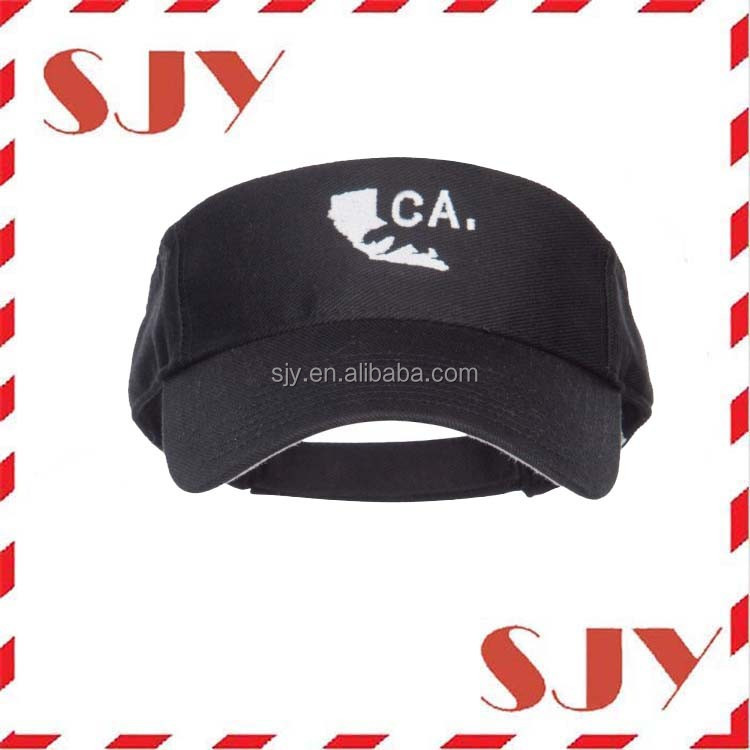 Custom Uv Protection Sun Visor Cap edced16dd08