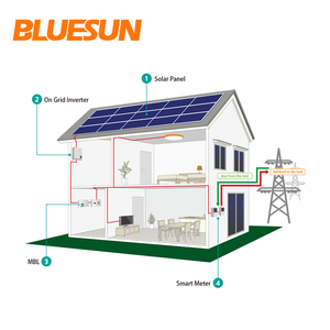 Quick delivered 10 KW Solar System 100KW Solar Energy System 500KW 600KW 1MW solar Generator for sale