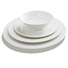 High quality dinner set porcelain white plate dinnerware set mexican tableware