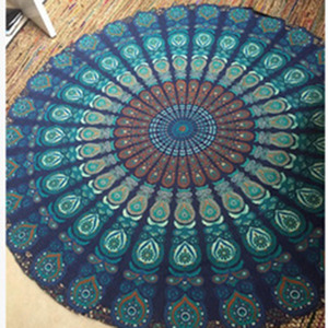 Wholesale 150cm Round Tapestry Mandala Wall Hanging Women Beach Towel Bohemian Indian Yoga Mat tapestry wall hangings