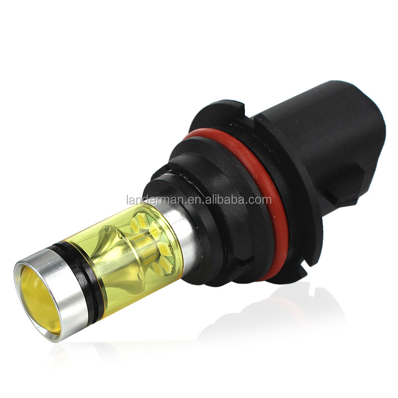 Wholesale car led yellow fog lamps 9004 9007 100W high power front fog lamps from led manufacturer