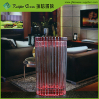 Promotional red tall giant bulk pillar candle holders