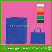 Factory reflective D cut shopping non-woven bag