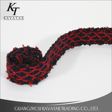 2017 Decorative ribbon moire ribbon,red woven ribbon