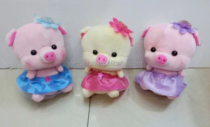 Stuffed toy plush cheap sale animal pig / 20cm animal stuffed pig plush