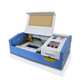 Low cost 40w aluminum dog tag mini co2 laser engraving machine