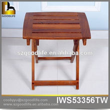 hot sale teak wooden folding chair patio garden outdoor furniture