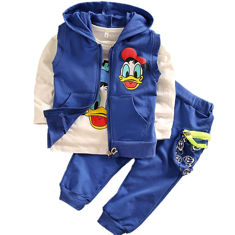 a77093ca2499 Buy 2015 Autumn Kids Clothes Set Boy and Girl Sport Suit Children ...