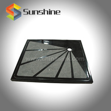 China Marquina Black Marble Stone Shower Tray