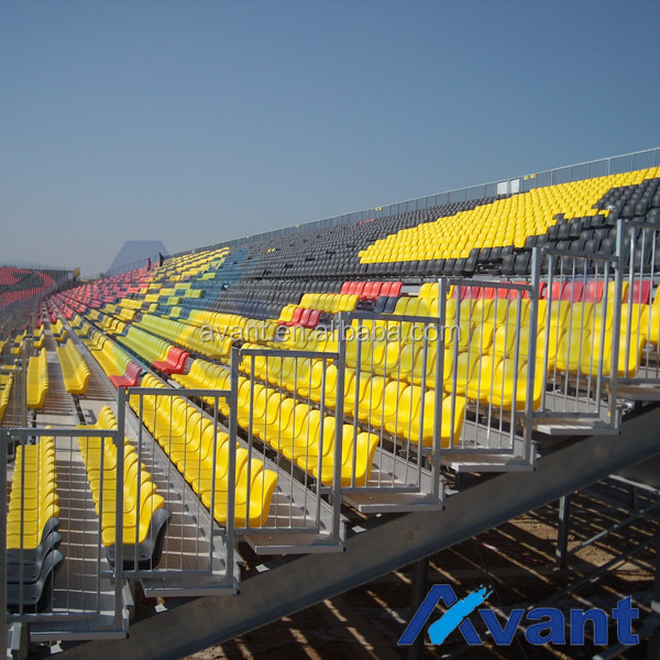Sundon-bleachers metal structural outdoor stadium seating chair durable seating metal grandstand seating