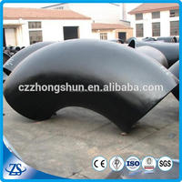 Brand new galvanized 90 degree short radius carbon steel elbow api 5l carbon seamless steel pipe for gas