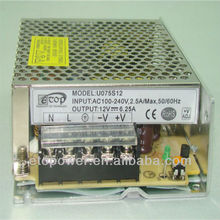 ac/dc switching power supply 30W enclosed type power supply