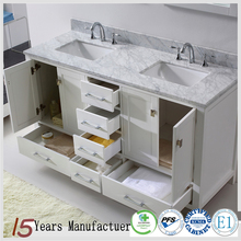 Chinese Ready Made Solid Wood Bathroom Vanity