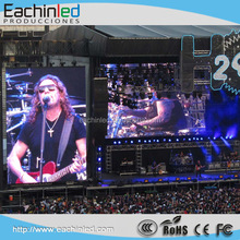 2016 Hot New Product P6 smd outdoor 5000nits Chile rental stage led screen for events/concert/party