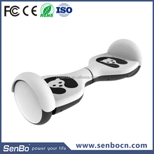 Dual Two 2 Wheels Self Balancing Smart Electric Mini Scooter Skateboard Intelligent Balance Car with LED Light