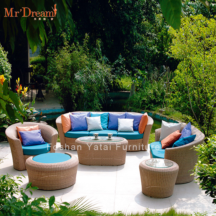 5 Star Hotel Custom Target Wicker Modern Luxury Rattan Outdoor Furniture