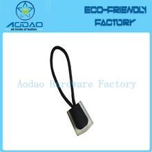 String Cord Silicon Rubber PVC Zipper Puller Rope Design