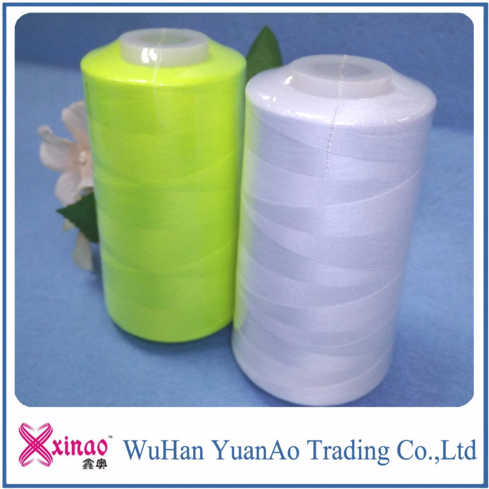20/2 20/3 China Wholesale 100% Polyester Jens Sewing Thread