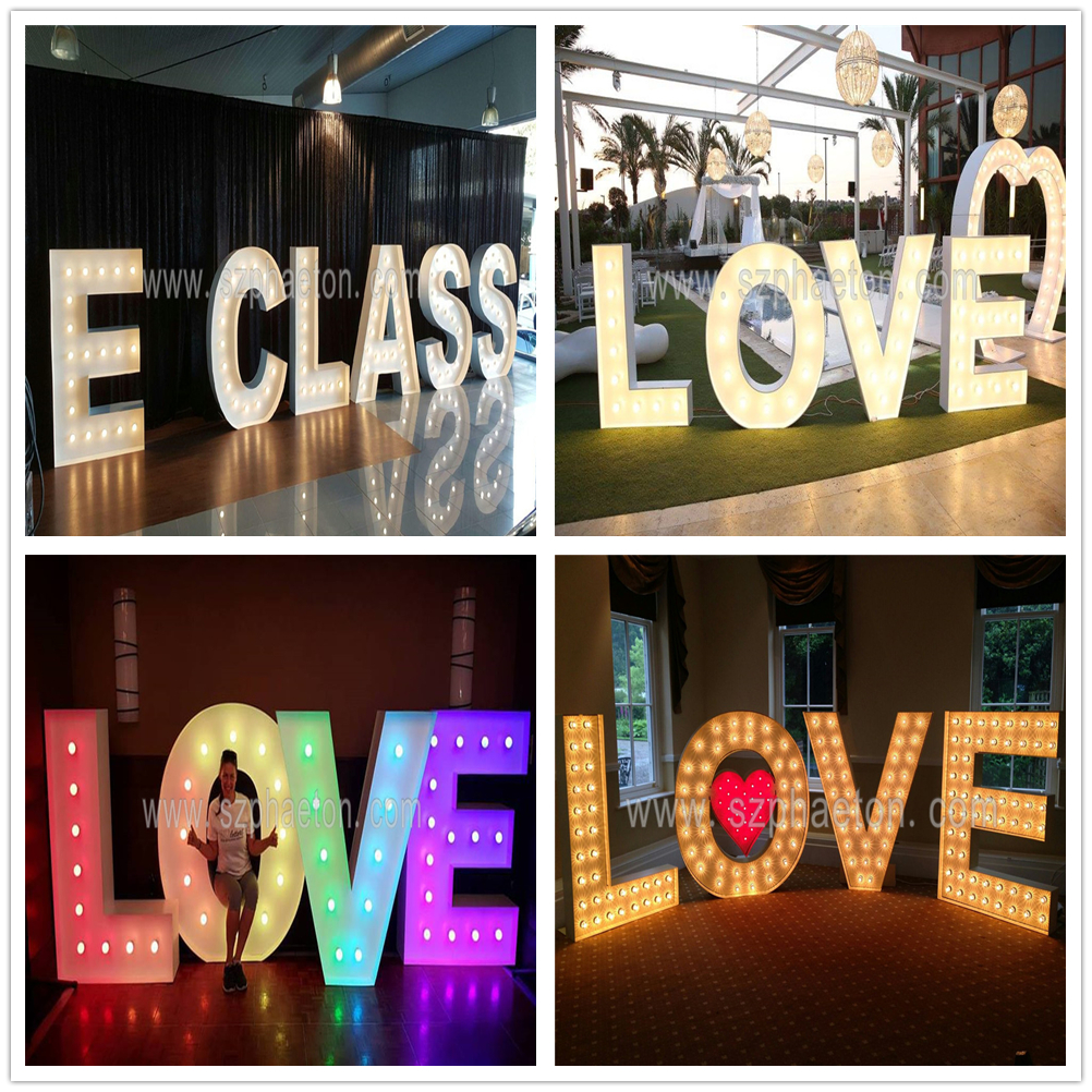 LOVE marquee letters, led light up marquee letters love, love letters for wedding