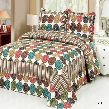 Beautiful Traditional Elephant Patchwork Cheap Bed Sheet Sets