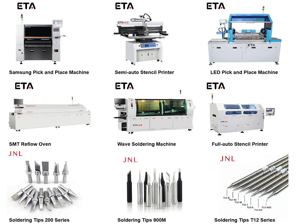 High Quality SMT Pick and Place Machine 8