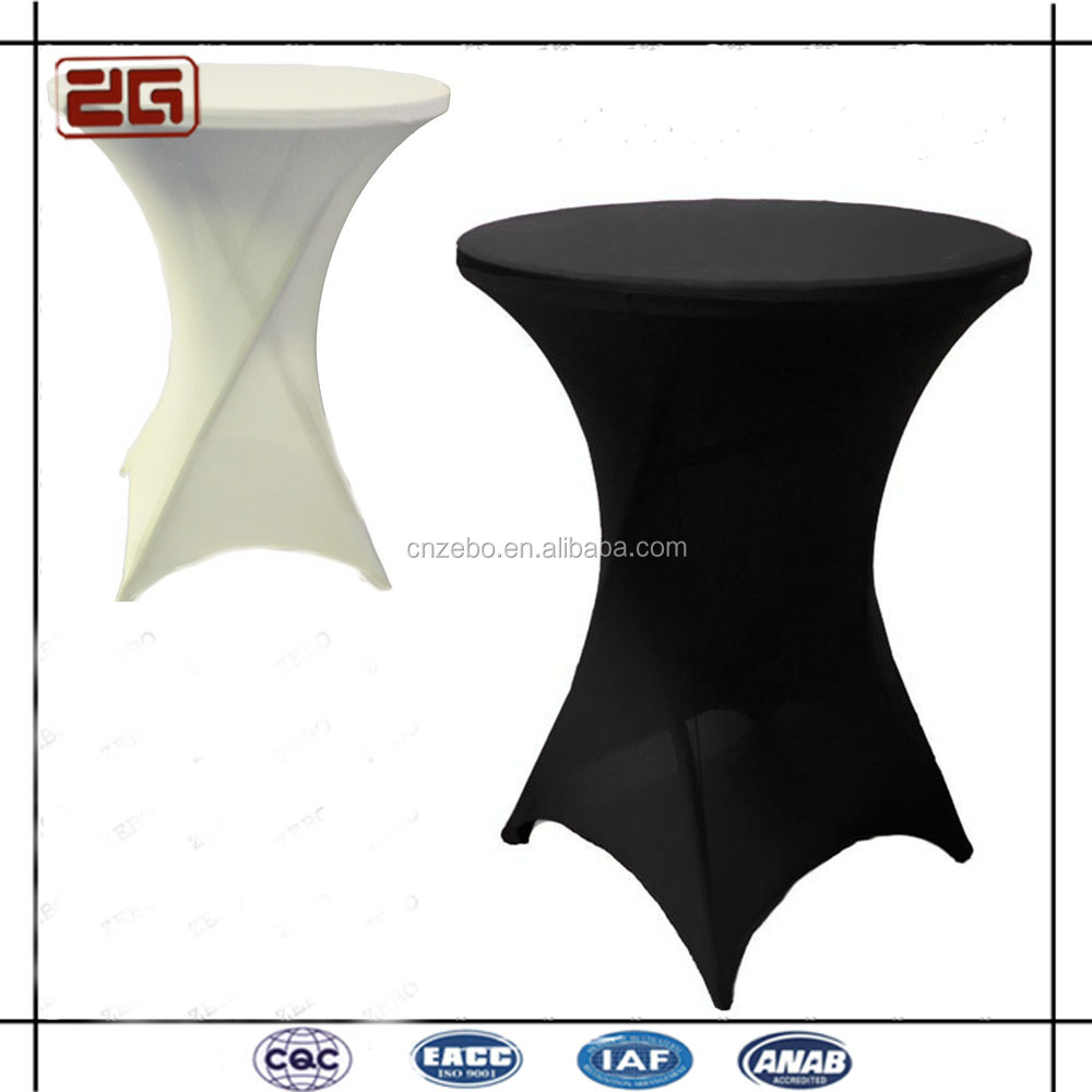 Wholesale White Spandex High Bar Cocktail Table Cloth For Wedding Buy Table Cloth For Wedding Cocktail Table Cloth Table Cloth Product On