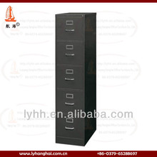 Black 5 Drawer Steel file cabinet manufacturer Home office storage BS5E 5 Drawer Filing Cabinet