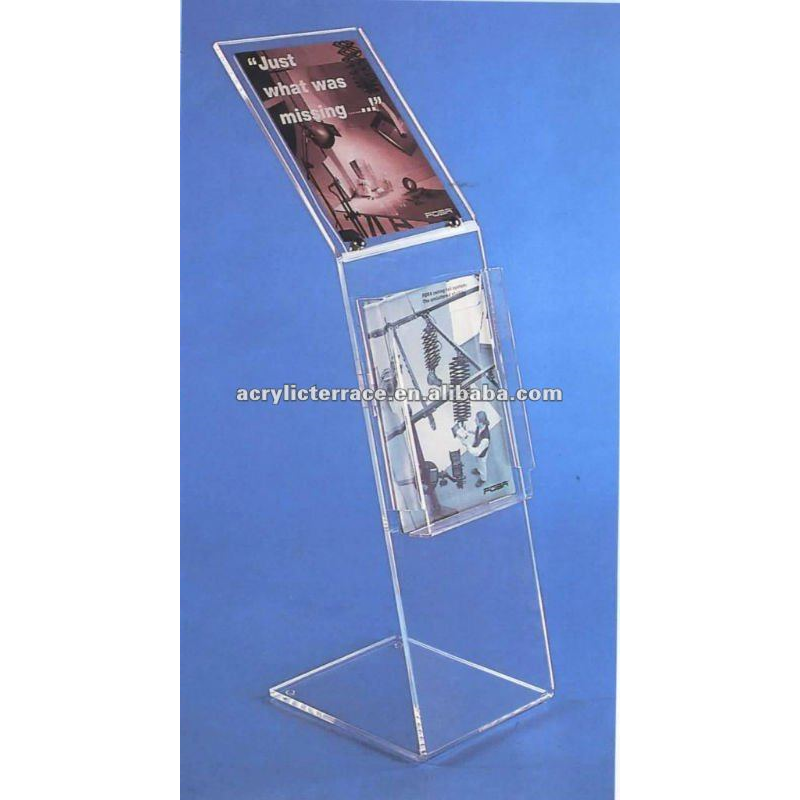 Clear Acrylic floor display stand M202-104