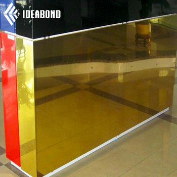 Mirror Finish Aluminium Composite Panel Acp For Hotel Awnings Shop Awnings  - Buy Acp Panels,Mirror Finish Aluminium Composite Panel Acp,Hotel Awnings