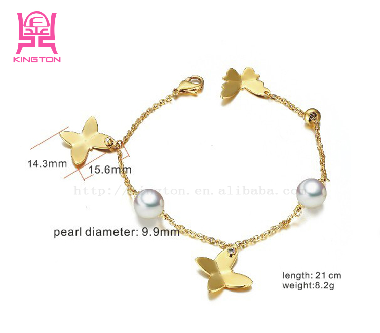latest design fashion 18k gold bracelets for girls, View girls ...